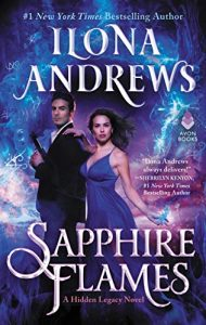 Want a paranormal romance novel? Then check out Sapphire Flames.