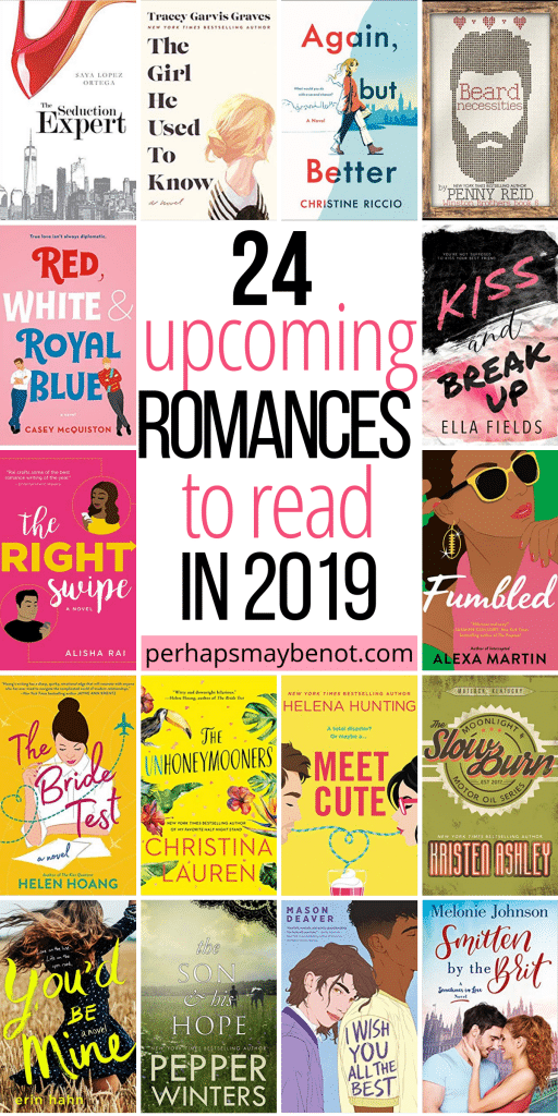 Check out these hot new romance novels of 2019!