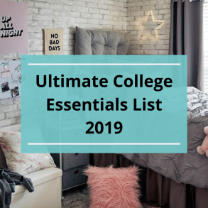 Ultimate College Essentials List 2019