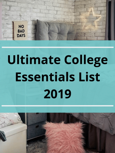 Ultimate College Essentials List 2019